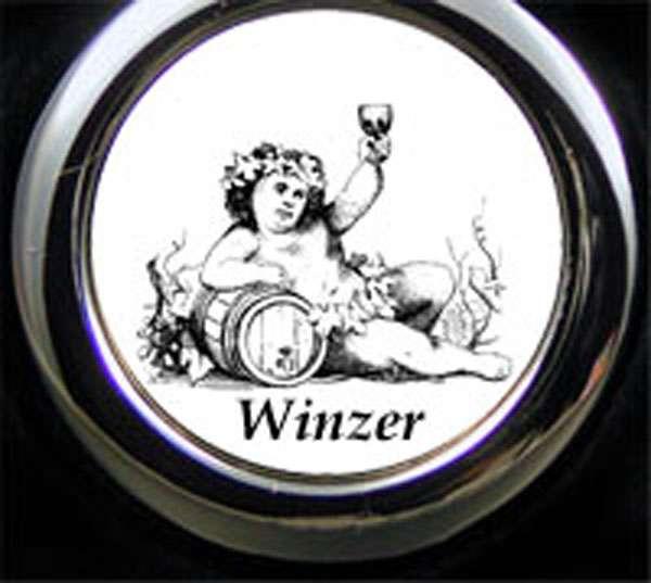 Winzer Bacchus Schlüsselanhänger personalisiert