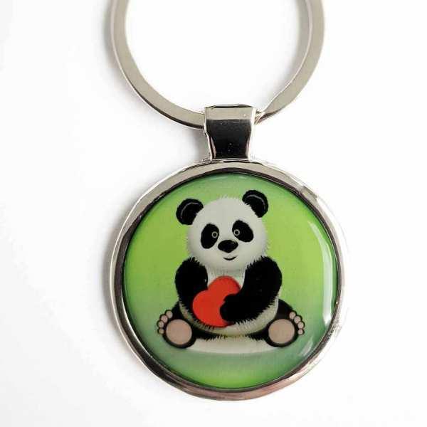 Panda Bär LOVE ♥ Schlüsselanhänger