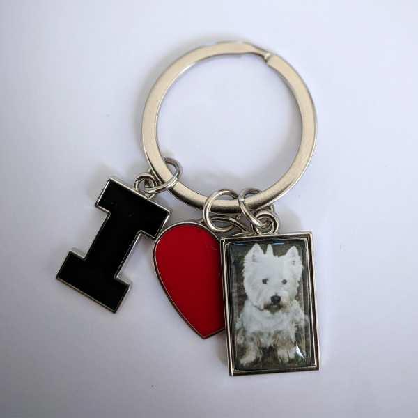 Hundemarke Schlüsselanhänger mit Gravur