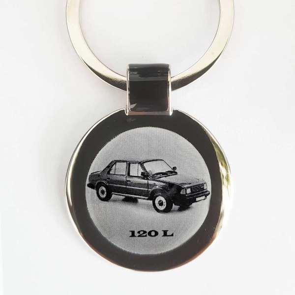 Skoda 120L Gravur Schlüsselanhänger personalisiert - original Fotogravur