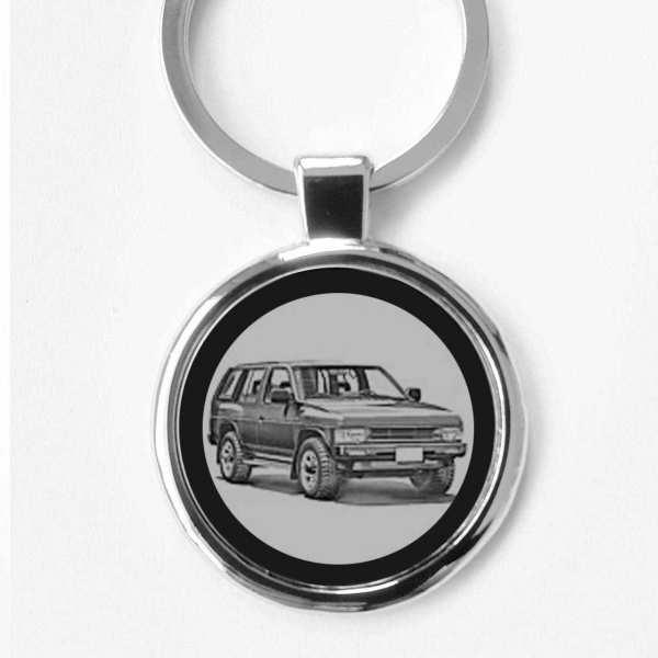 Nissan Terrano Schlüsselanhänger personalisiert mit Gravur