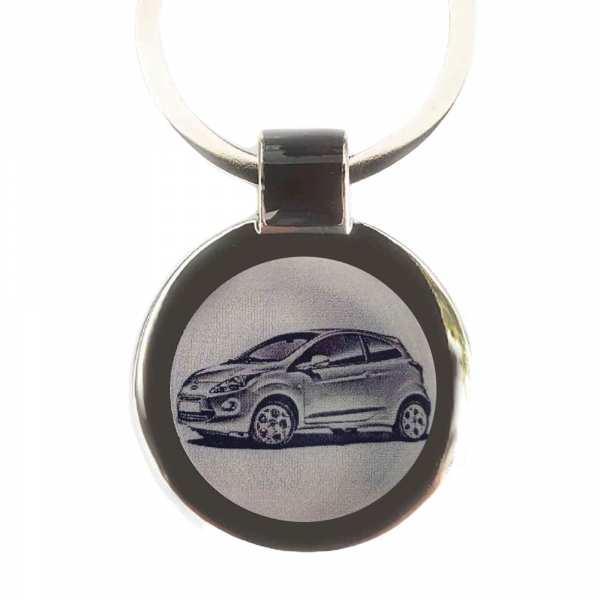 Ford Ka Modell 2016 Schlüsselanhänger personalisiert - original Fotogravur