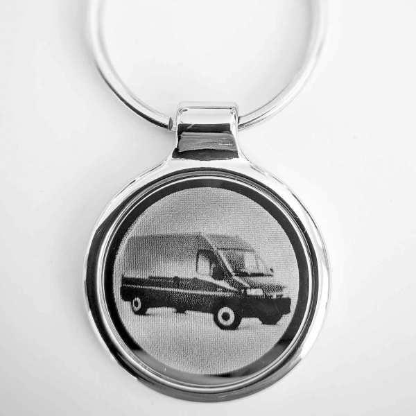 Citroen Jumper Schlüsselanhänger - original Fotogravur