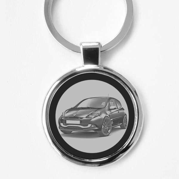Renault Clio R.S. Schlüsselanhänger personalisiert