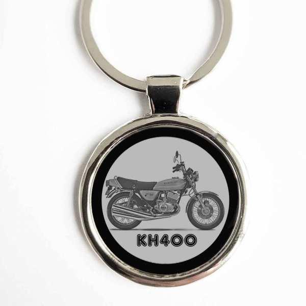 Kawasaki KH400 Gravur Schlüsselanhänger personalisiert