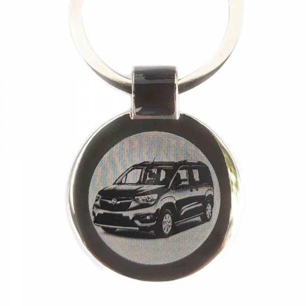 Opel Combo Life ab 2019 Gravur Schlüsselanhänger personalisiert - original Fotogravur