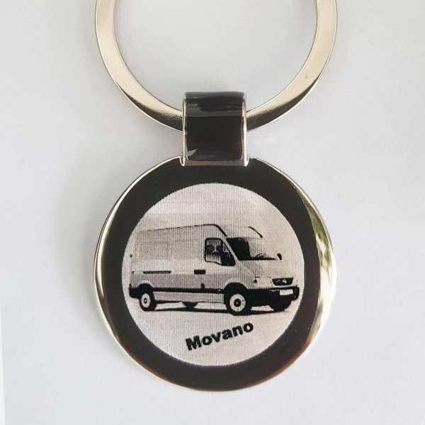 Opel Movano Transporter Gravur Schlüsselanhänger personalisiert