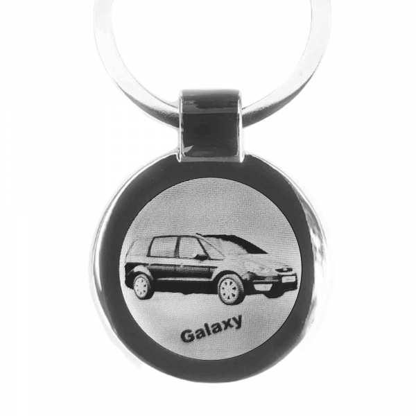 Ford Galaxy Gravur Schlüsselanhänger personalisiert - original Fotogravur