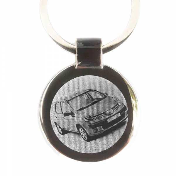 Nissan Note Gravur Schlüsselanhänger personalisiert