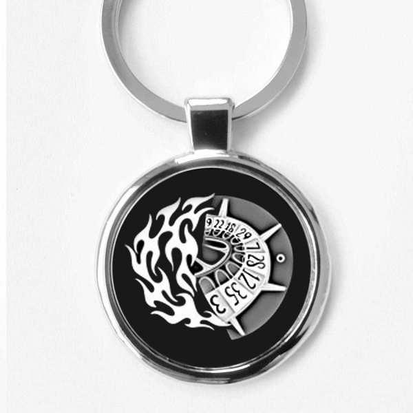 Roulette Glücksbringer Schlüsselanhänger personalisiert