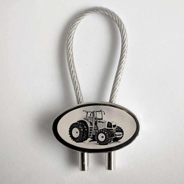 Renault Atless 936 Traktor Gravur Schlüsselanhänger personalisiert - original Fotogravur