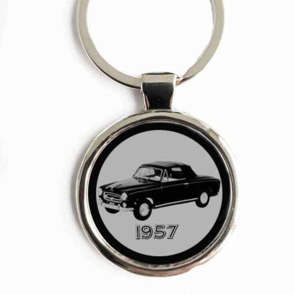Peugeot 403 Gravur Schlüsselanhänger personalisiert