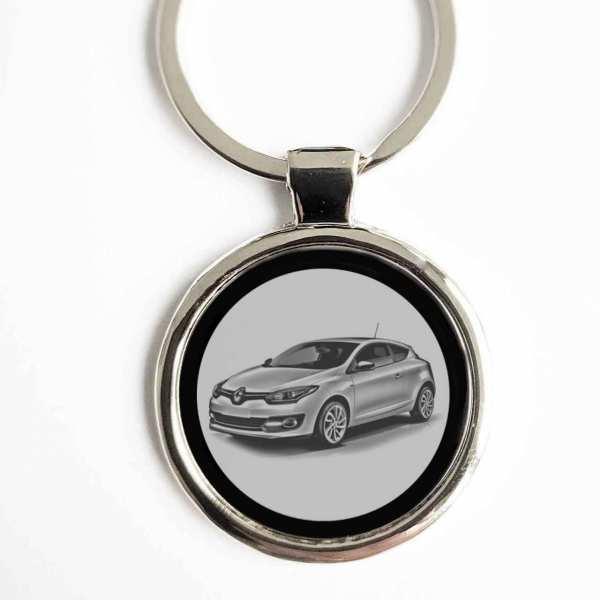 Renault Megane Coupe Schlüsselanhänger personalisiert