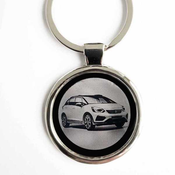 Honda Jazz Crosstar ab 2020 Gravur Schlüsselanhänger personalisiert - original Fotogravur