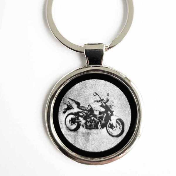 Suzuki B King Gravur Schlüsselanhänger personalisiert - original Fotogravur