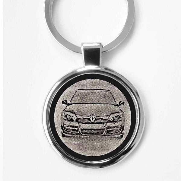Renault Laguna Gravur Schlüsselanhänger personalisiert - original Fotogravur