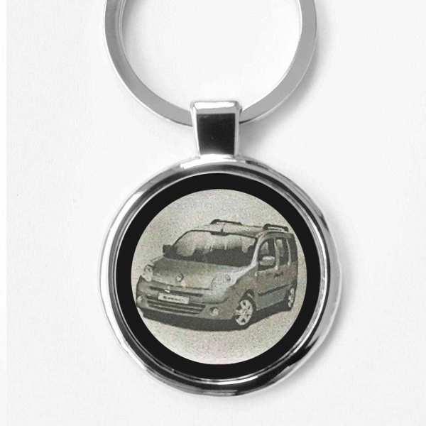 Renault Kangoo Gravur Schlüsselanhänger personalisiert - original Fotogr