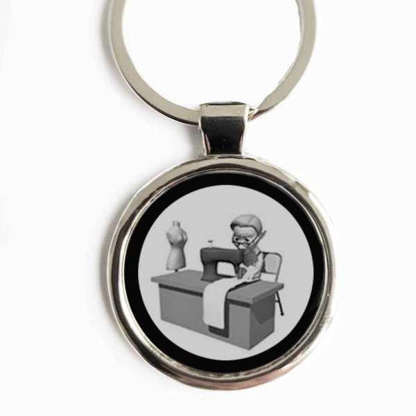 Schneider Beruf Gravur Schlüsselanhänger personalisiert