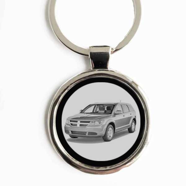 Dodge Journey Schlüsselanhänger personalisiert mit Gravur