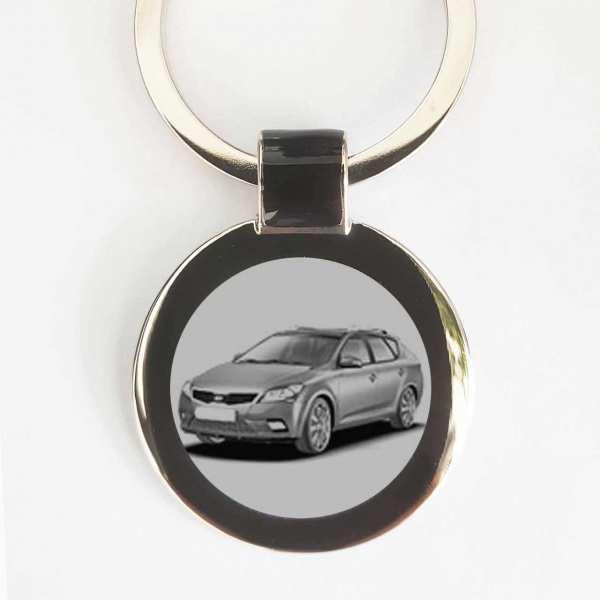 Kia Ceed SW Schlüsselanhänger personalisiert mit Gravur