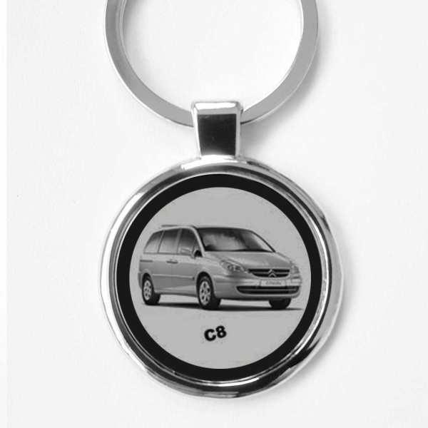 Citroen C8 Schlüsselanhänger personalisiert