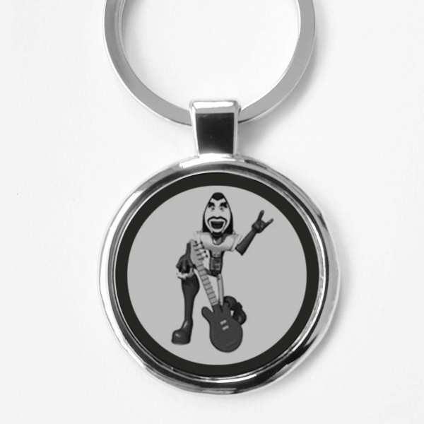 E-Gitarre Gravur Gravur Schlüsselanhänger personalisiert