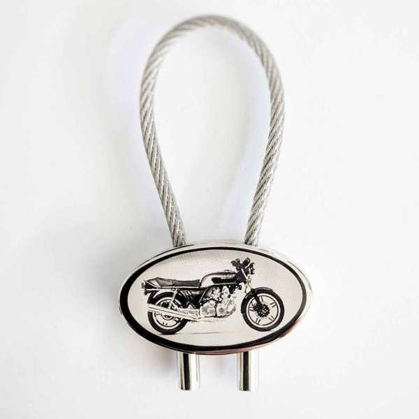 Honda CBX 1000 Motorrad Gravur Schlüsselanhänger - original Fotogravur