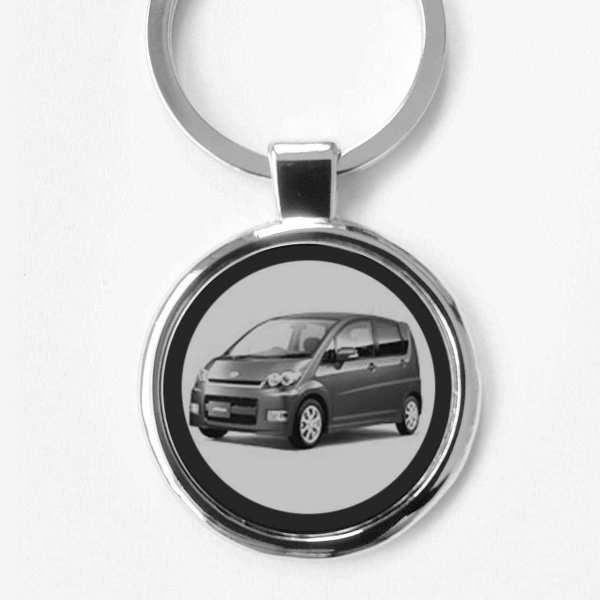 Schlüsselanhänger Daihatsu Move mit Gravur