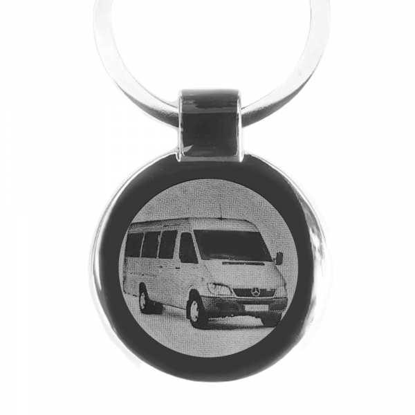 Mercedes Sprinter Bus Gravur Schlüsselanhänger personalisiert
