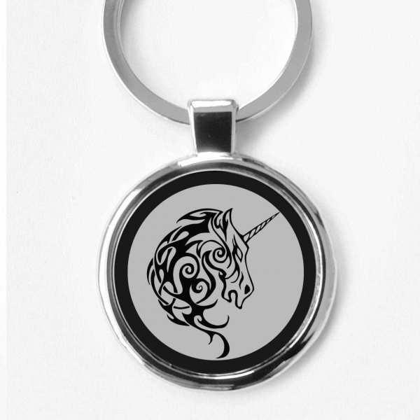 Einhorn Gravur Schlüsselanhänger personalisiert