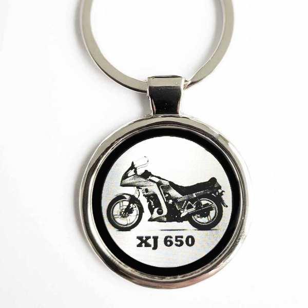 Yamaha XJ 650 Motorrad Gravur Schlüsselanhänger - original Fotogravur