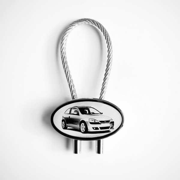 Opel Corsa C Gravur Schlüsselanhänger personalisiert - original Fotogravur