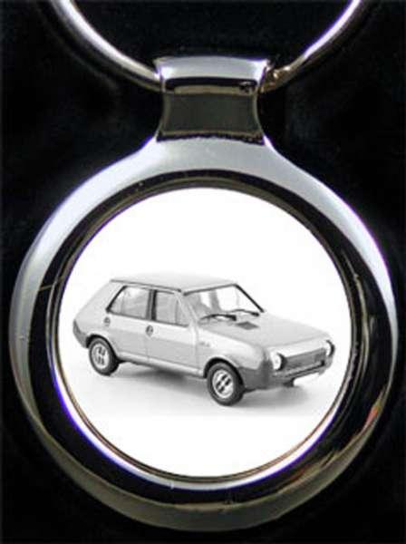 Seat Ritmo 75 Auto Schlüsselanhänger personalisiert