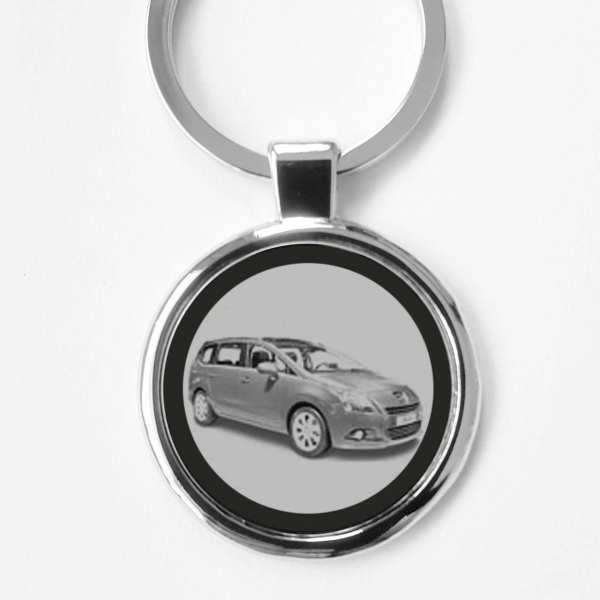 Peugeot 5008 Schlüsselanhänger personalisiert