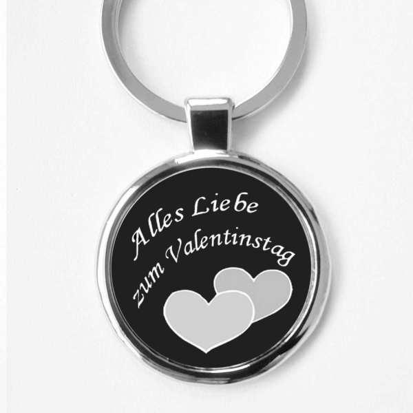 Alles Liebe zum Valentinstag Schlüsselanhänger personalisiert