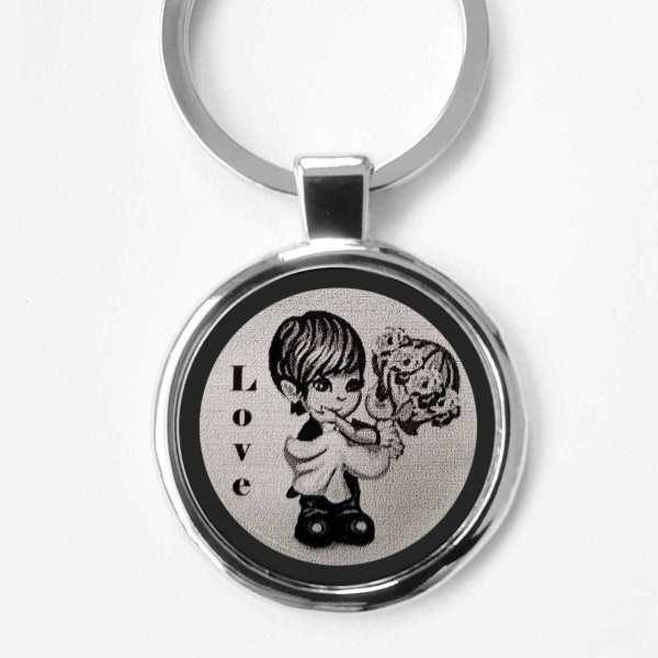 Hochzeit Hochzeitstag Gravur Schlüsselanhänger personalisiert - origina Fotogravur