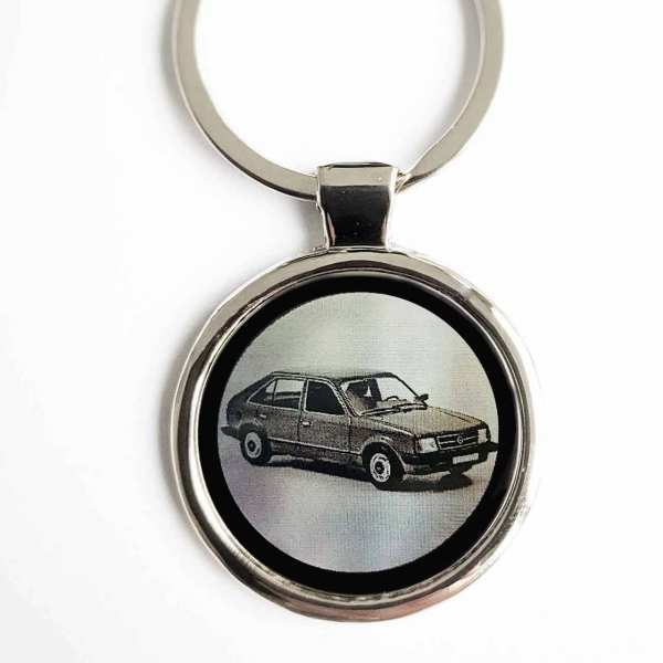 Opel Kadett D Schlüsselanhänger personalisiert