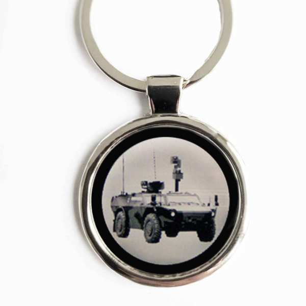 Fennek Panzerspähwagen Gravur Schlüsselanhänger personalisiert