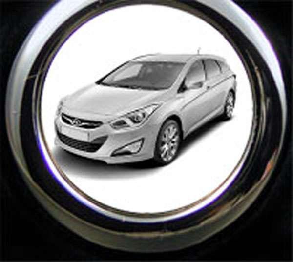 Hyundai i40cw Schlüsselanhänger mit Gravur