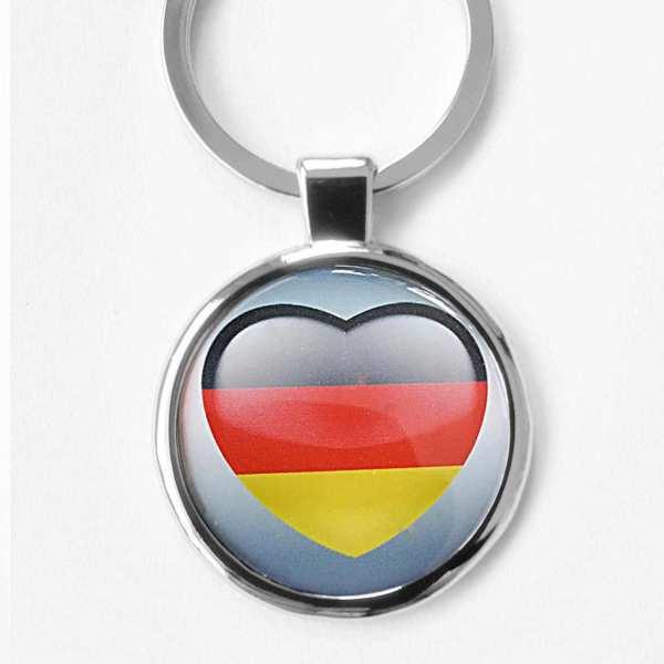 I Love Deutschland Schlüsselanhänger