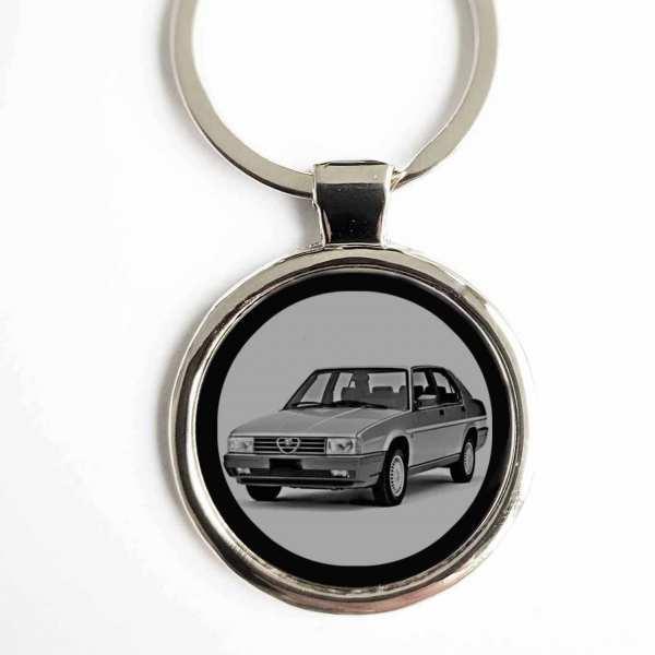 Alfa Romeo 90 Gravur Schlüsselanhänger personalisiert