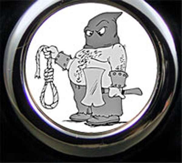 Henker Cartoon Schlüsselanhänger
