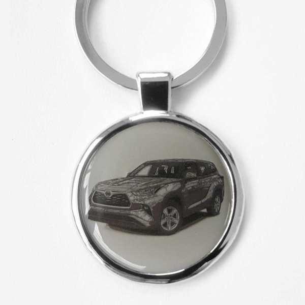 Toyota Highlander Schlüsselanhänger personalisiert mit Gravur
