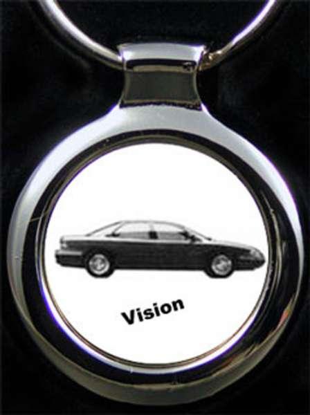 Chrysler Vision Gravur Schlüsselanhänger personalisiert