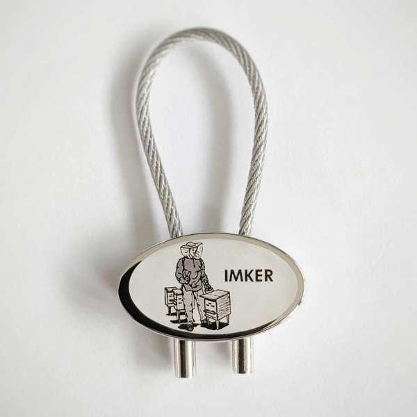 Imker Gravur Schlüsselanhänger