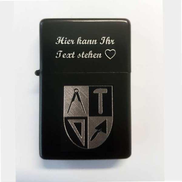 Maurer Zunft Wappen Berufe Gravur Feuerzeug personalisiert