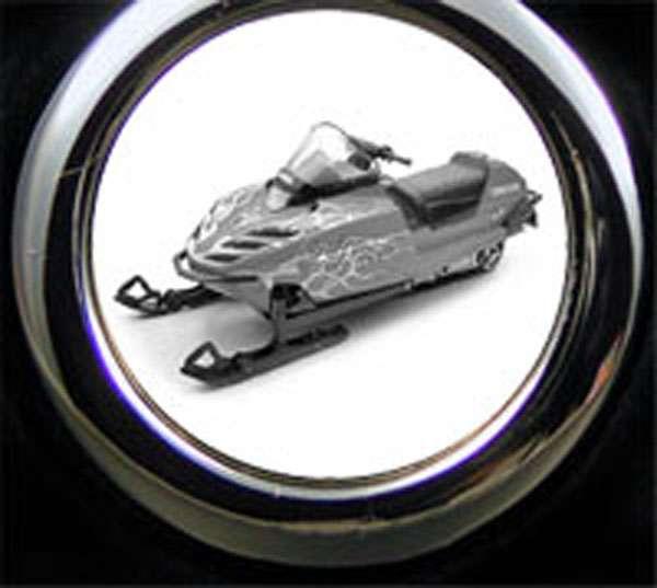 Yamaha Schneemobil Gravur Schlüsselanhänger
