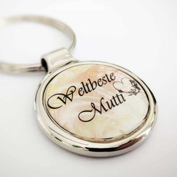 Mutter Schlüsselanhänger personalisiert mit Gravur Mutter Geschenkidee