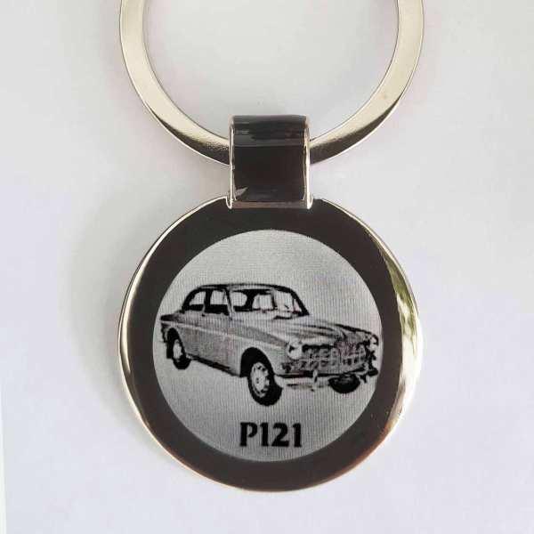 Volvo P121 Gravur Schlüsselanhänger - original Fotogravur
