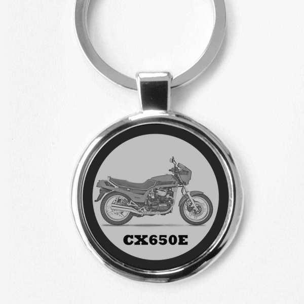 Honda CX650E Schlüsselanhänger